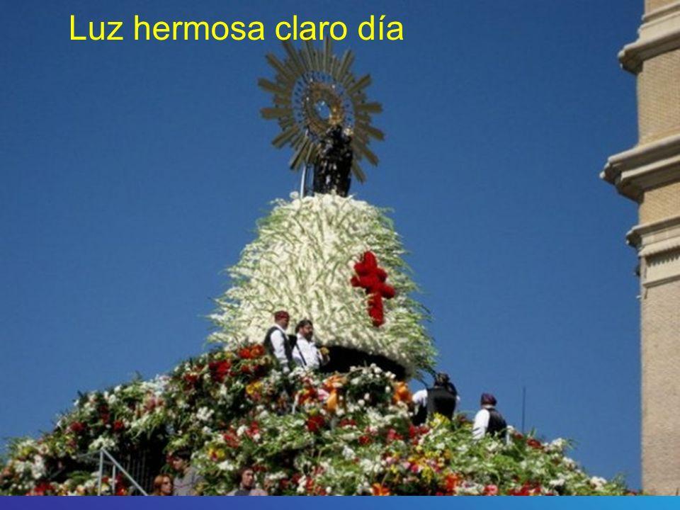 Cantad cantad a la Virgen del Pilar A la virgen del pilar