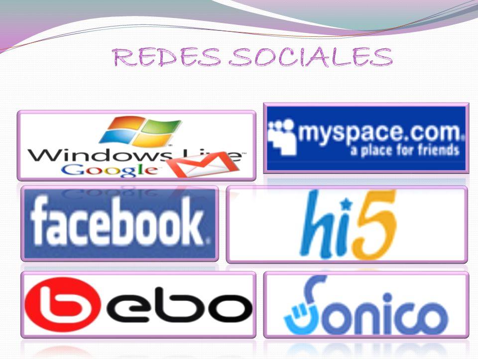 FacebooK.- es una herramienta social que pone en contacto a personas con sus amigos y otras personas que trabajan, estudian y viven cerca de ellos..