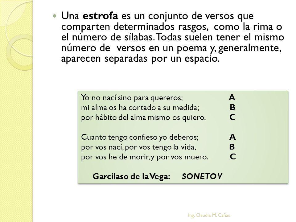 MOTIVO LÍRICO MOTIVO LÍRICO Ing. Claudia M. Cañas