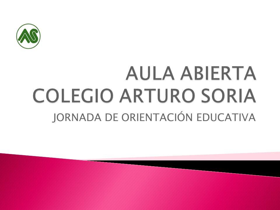 JORNADA DE ORIENTACIÓN EDUCATIVA