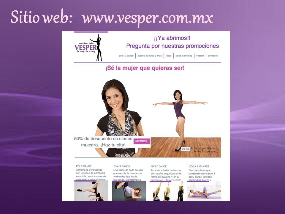 Sitio web: www.vesper.com.mx