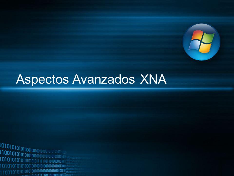 Aspectos Avanzados XNA