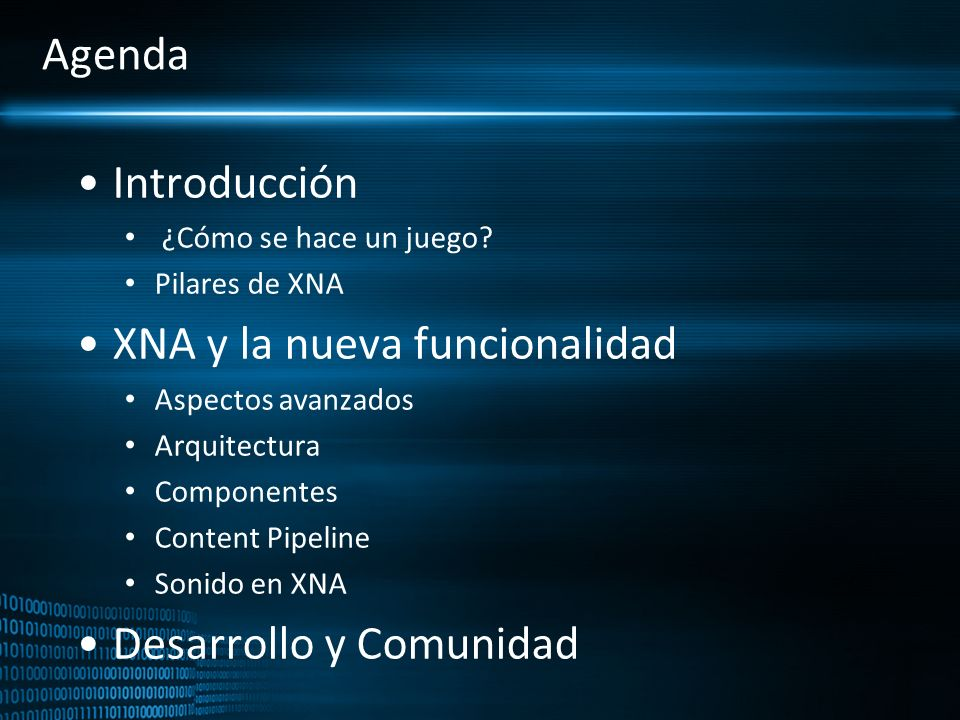 Introducción a XNA