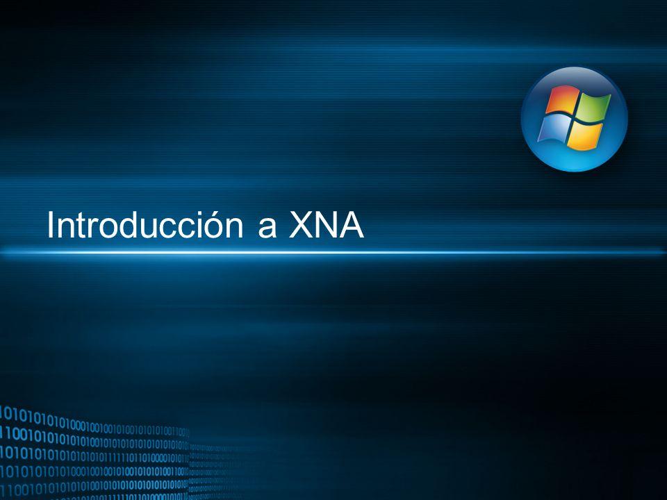 Objetos reusables que se integran en el juego proporcionando servicios Microsoft.XNA.Framework.GameComponent Clase base de todos los componentes Define los métodos Load, Update y Draw Se registra en la colección Game.Components lo que le permite interactuar con otros componentes.