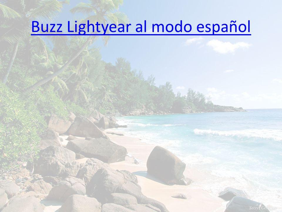 Buzz Lightyear al modo español