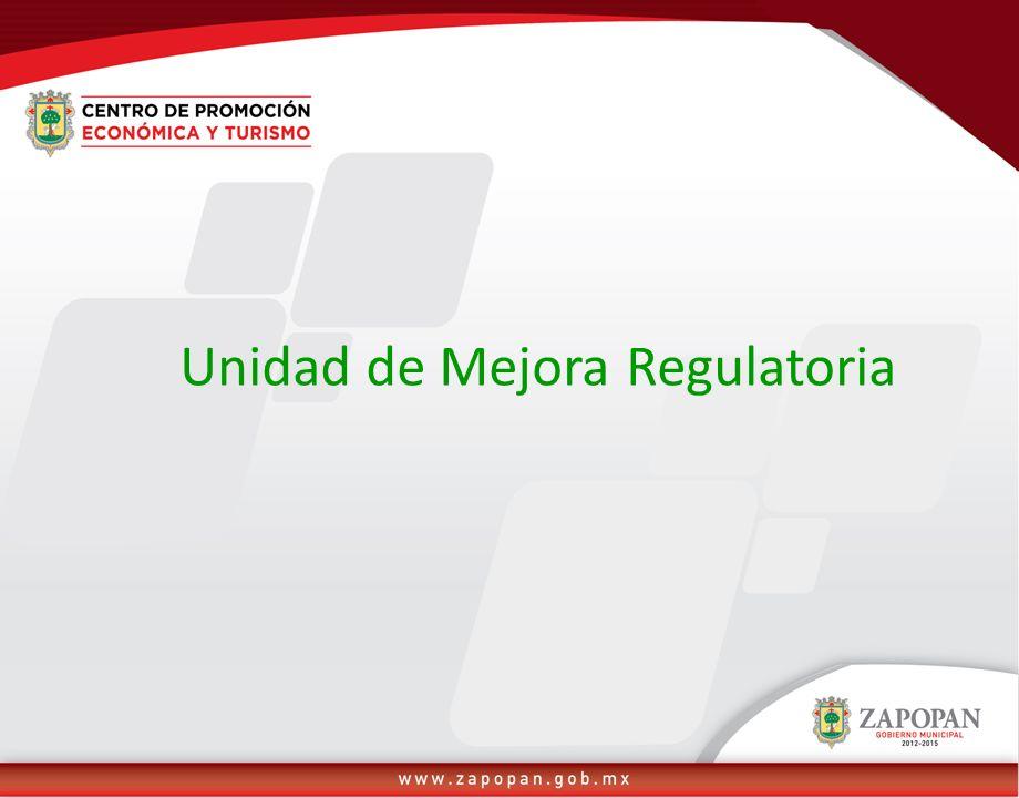 Unidad de Mejora Regulatoria