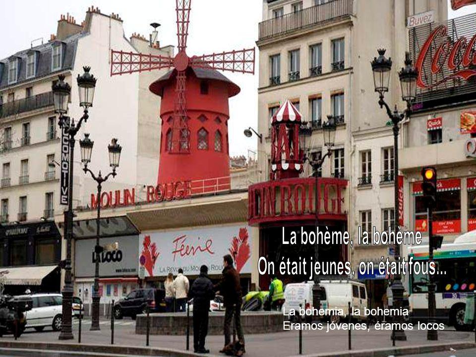 En su nueva decoración Montmartre se ve triste y las lilas están muertas