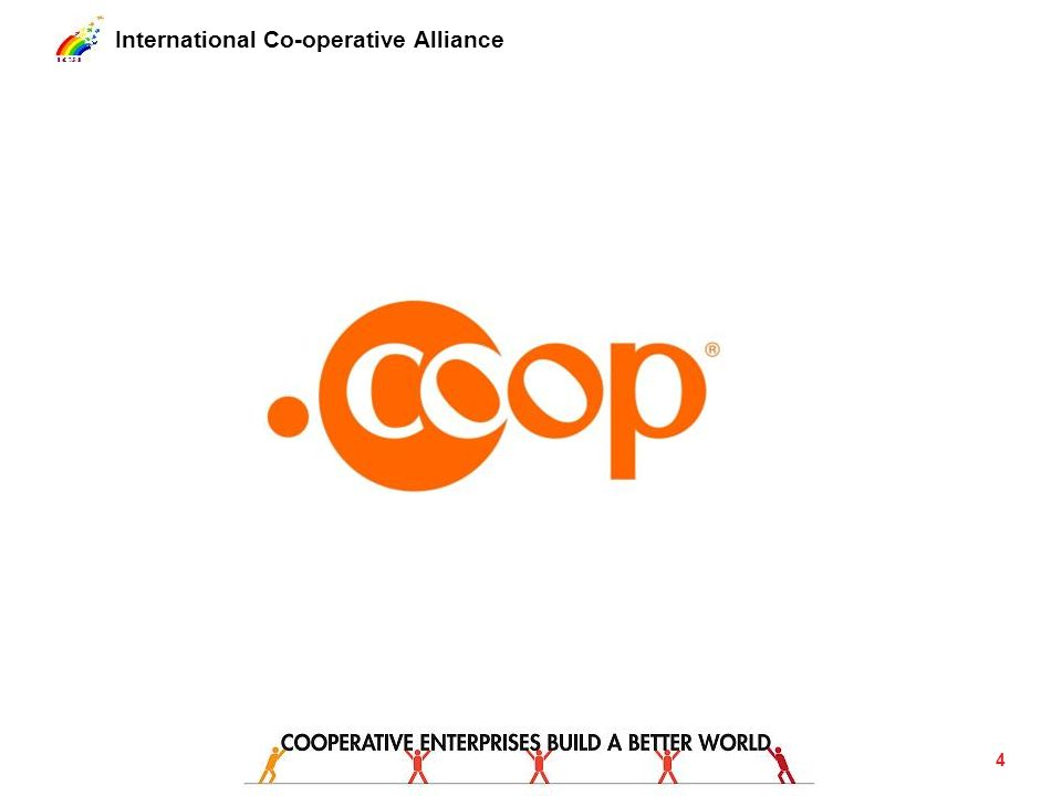 International Co-operative Alliance Participation Elevate participation within membership and governance to a new level.