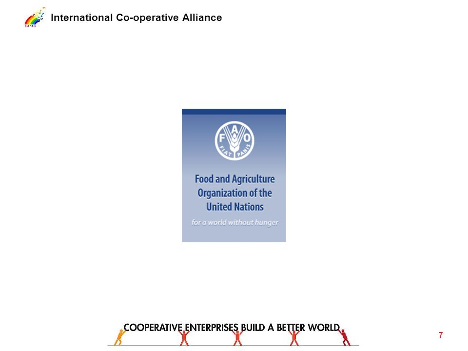 International Co-operative Alliance Legal frameworks Ensure supportive legal frameworks for co- operative growth.
