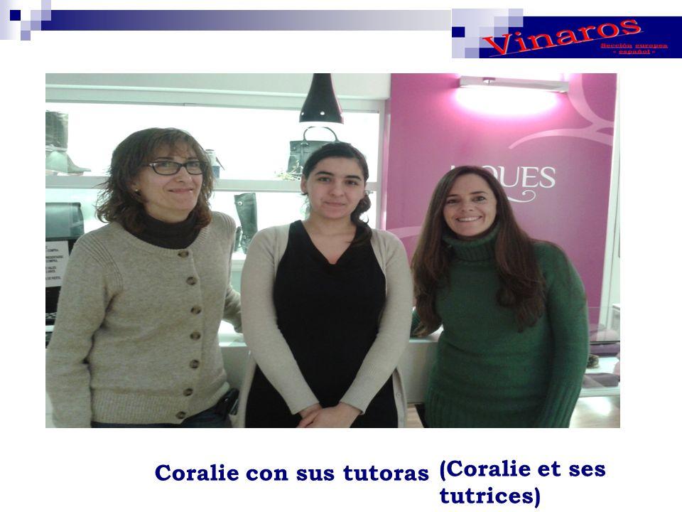 Coralie con sus tutoras (Coralie et ses tutrices)