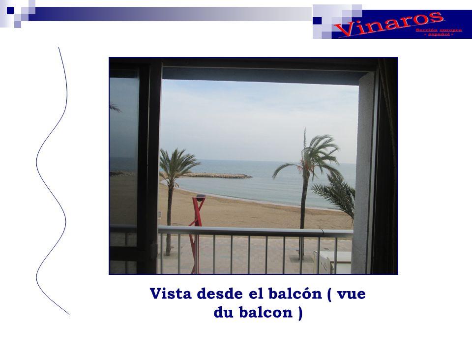 Vista desde el balcón ( vue du balcon )
