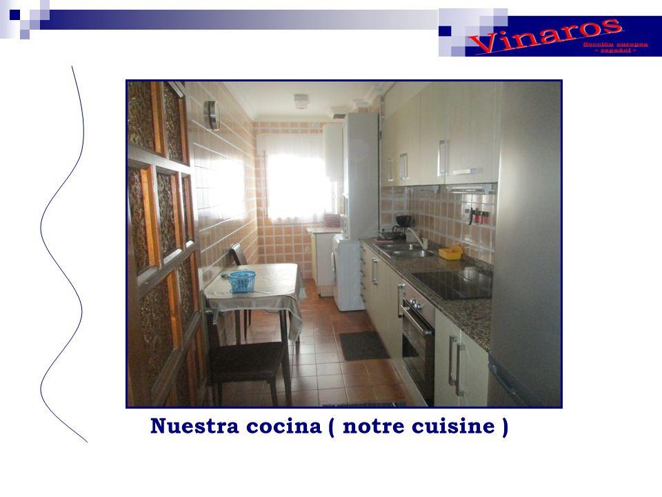Nuestra cocina ( notre cuisine )