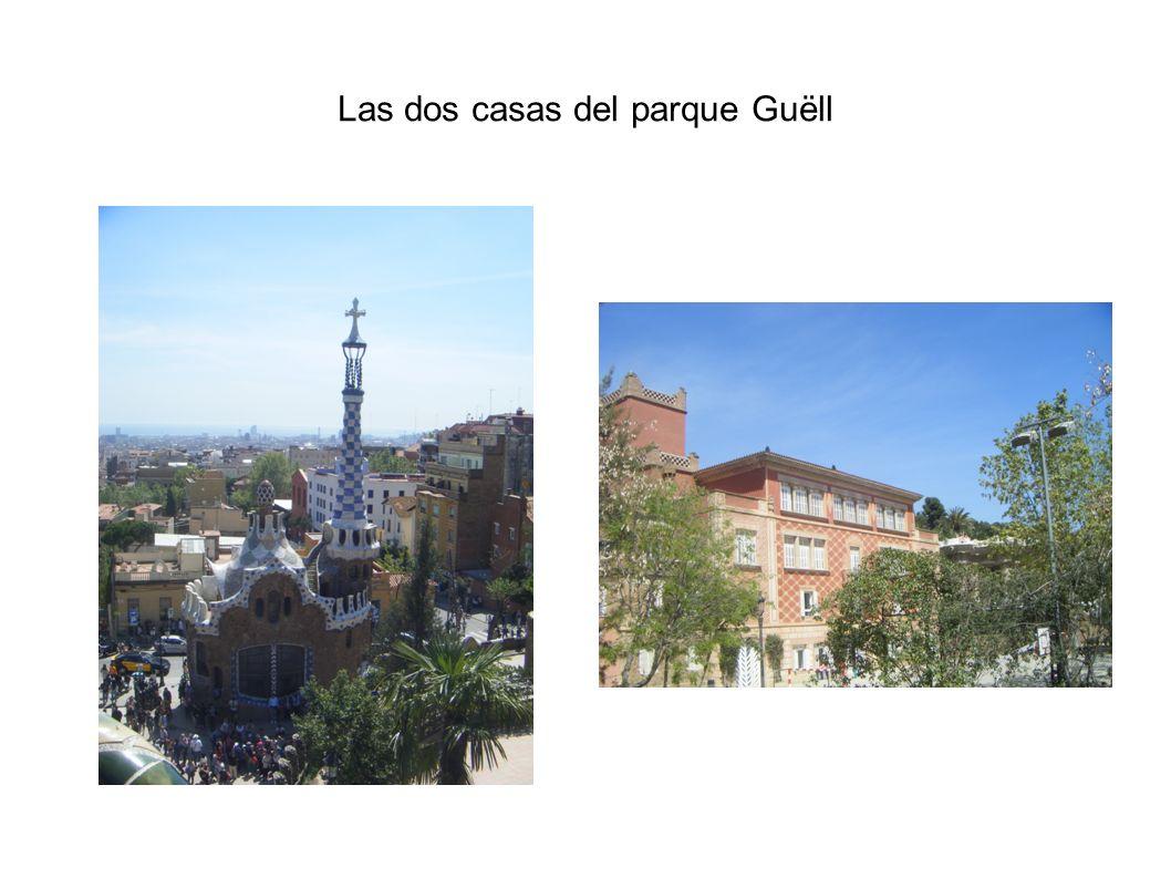 Las dos casas del parque Guëll