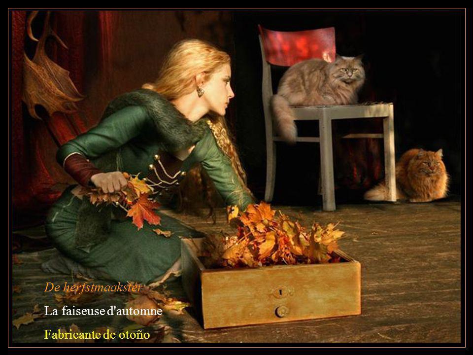 De herfstmaakster La faiseuse d'automne Fabricante de otoño