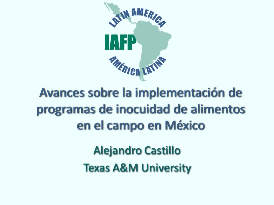 Alejandro Castillo Texas A&M University Alejandro Castillo Texas A&M University