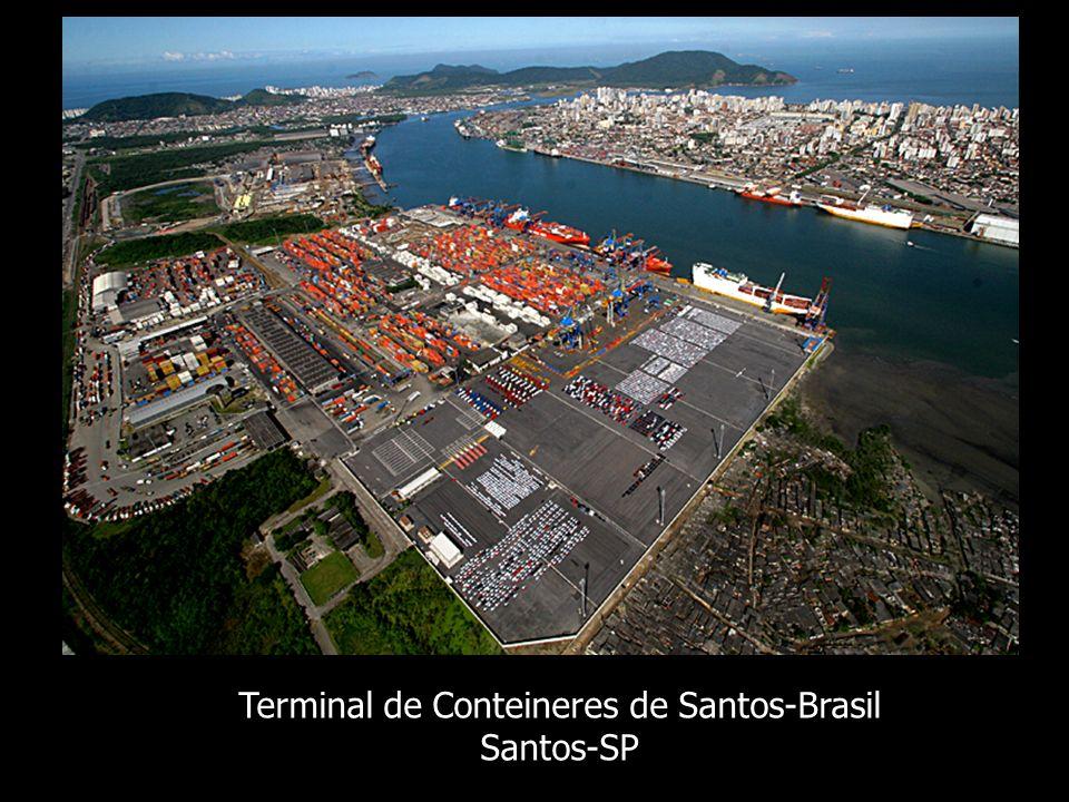 Terminal de Conteineres de Santos-Brasil Santos-SP
