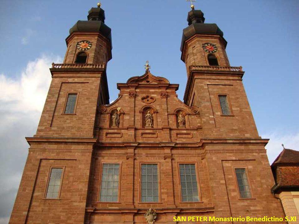 SAN PETER Monasterio Benedictino S.XI