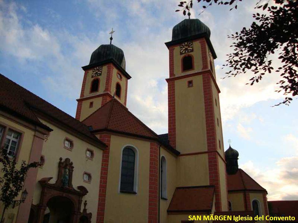 SAN MÄRGEN Convento