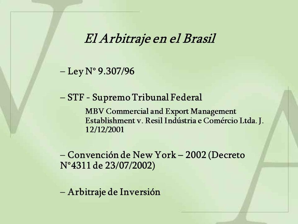 Cláusula compromisoria y Compromiso arbitral Tribunal de Justiça do Estado de Paraná J.