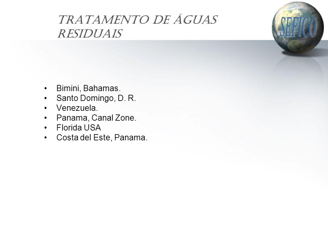 Tratamento de Águas Residuais Bimini, Bahamas. Santo Domingo, D.