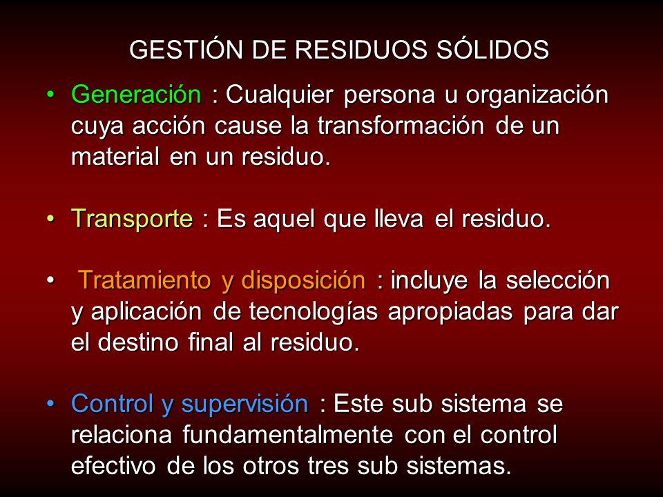 Gestión de residuos sólidos. Dr. Rubén Lijteroff Bioseguridad y gestión ambiental rlijte@yahoo.com.ar