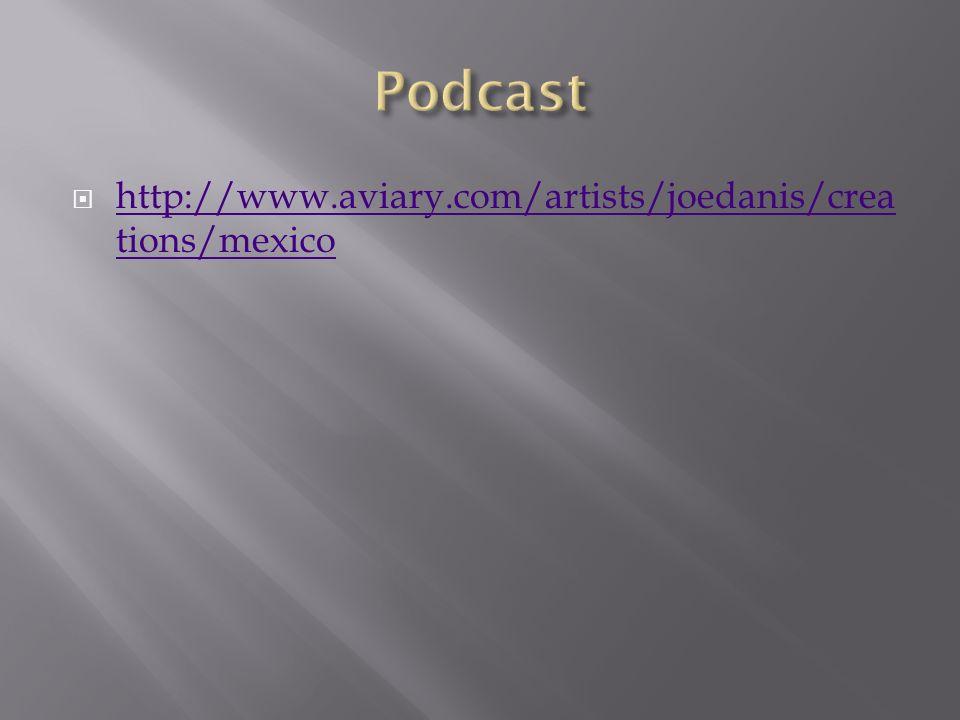 http://www.aviary.com/artists/joedanis/crea tions/mexico http://www.aviary.com/artists/joedanis/crea tions/mexico
