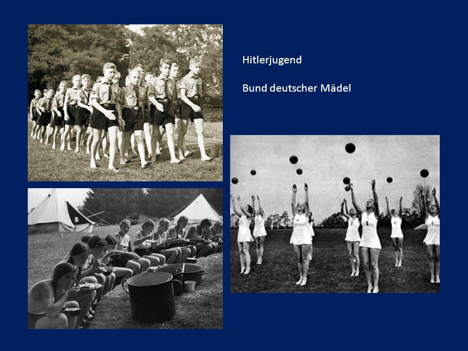 Hitlerjugend Bund deutscher Mädel