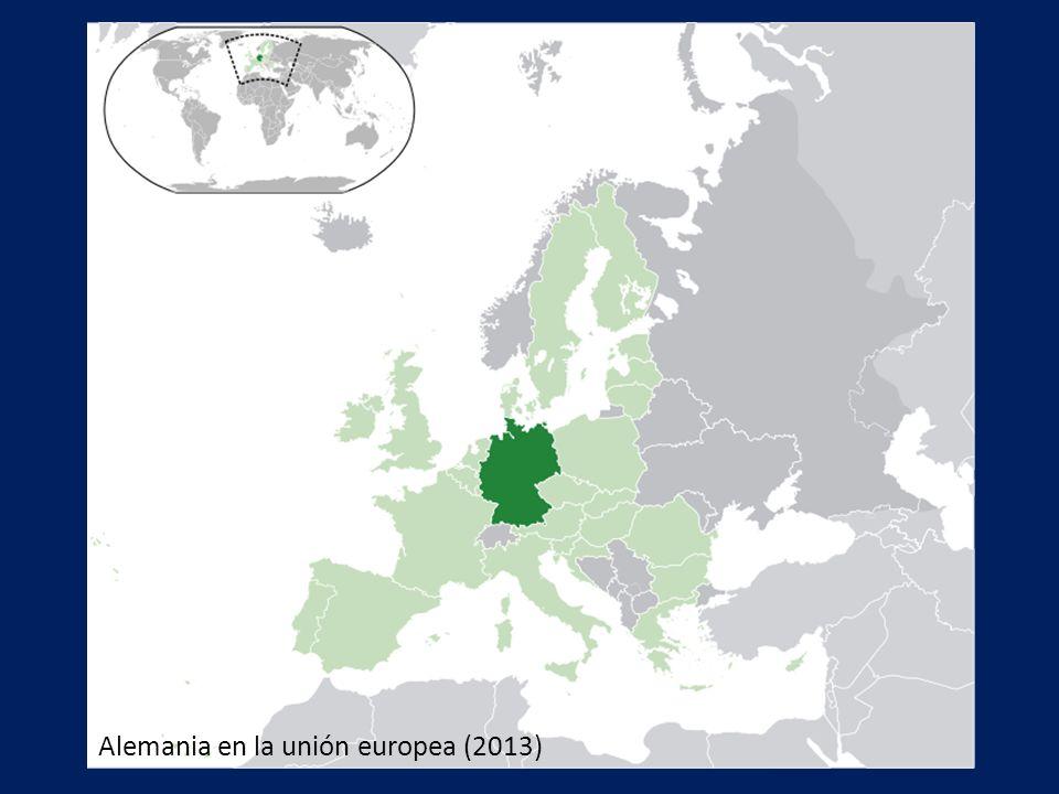 Forma de gobierno: República parlamentaria federal Fundación: 18 de enero 1871 República federal: 1949 Reunificación: 3 de octubre 1990 Presidente: Joachim Gauck Canciller federal: Angela Merkel Capital: Berlin Populación: 82 604 000 hab.
