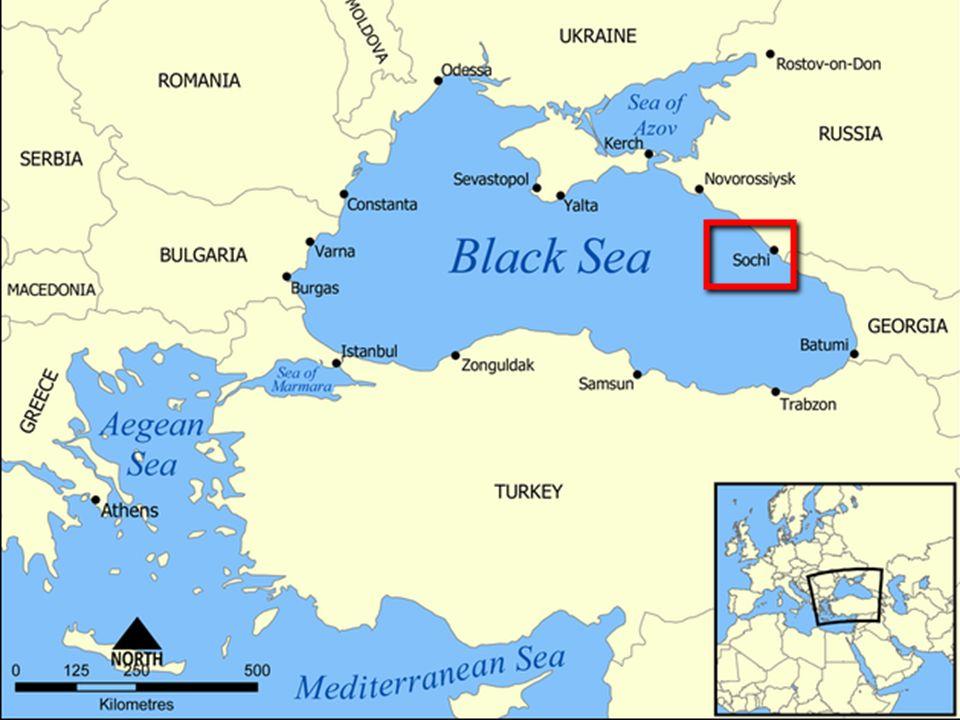 W mieście Soczi odbywać się będą zawody w dyscyplinach lodowych , tu zbudowano główne obiekty jak stadion olimpijski i centrum prasowe.