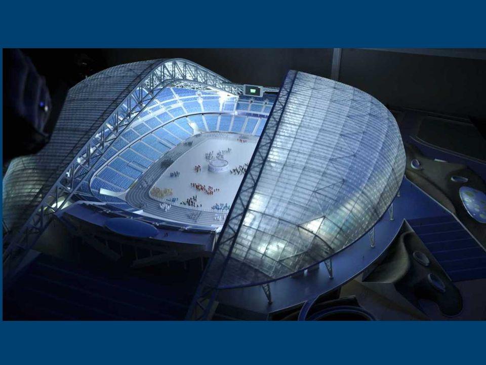 Stadion Olimpijski Fiszt, Soczi 2014 Nazwa stadionu pochodzi od jednej z najsławniejszych w Rosji kaukaskiej Góry Fiszt.