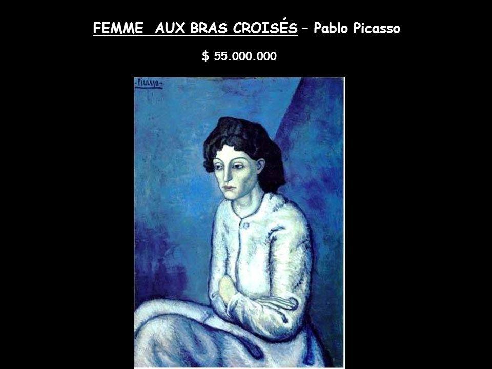 TRIGAL CON CIPRESES – Vincent Van Gogh $ 57.000.000