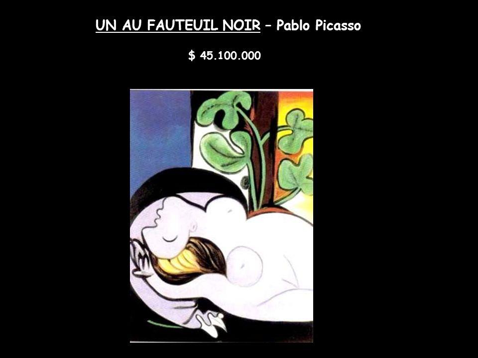 AUTORRETRATO. YO, PICASSO – Pablo Picasso $ 47.800.000