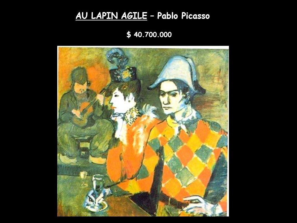 ANGEL FERNANDEZ DEL SOTO – Pablo Picasso 42.100.000 euros