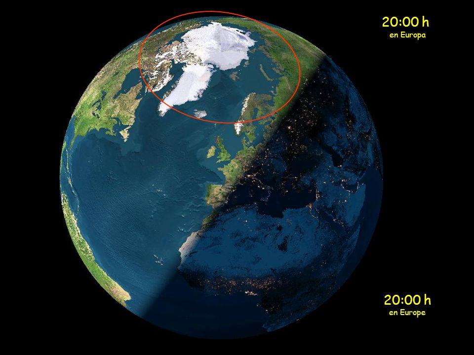 19:00 h en Europa 19:00 h en Europe