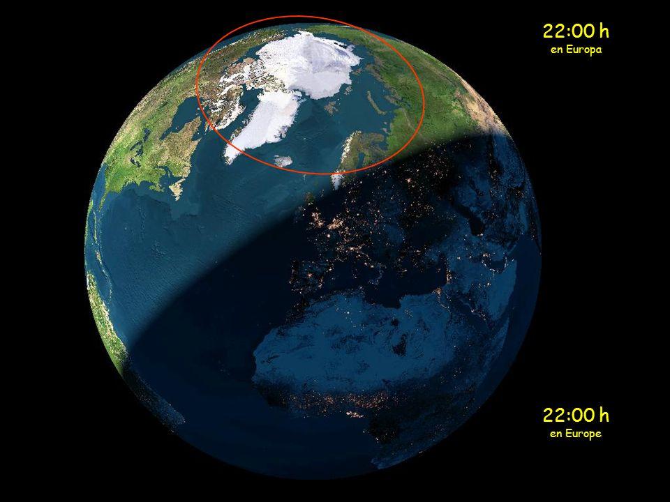 21:00 h en Europa 21:00 h en Europe