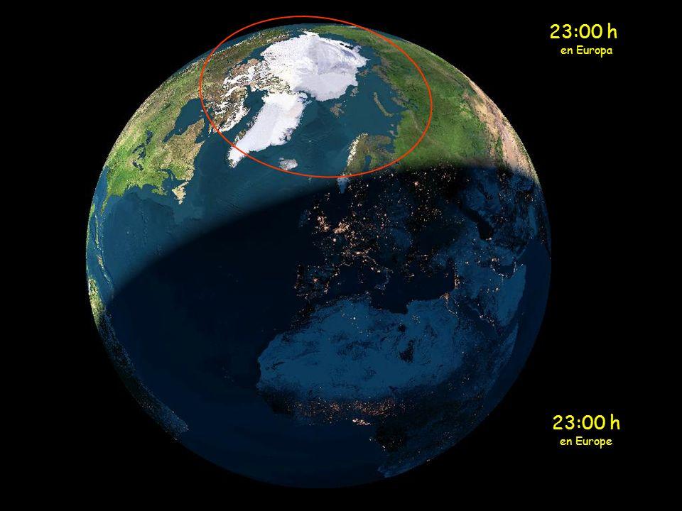 22:00 h en Europa 22:00 h en Europe