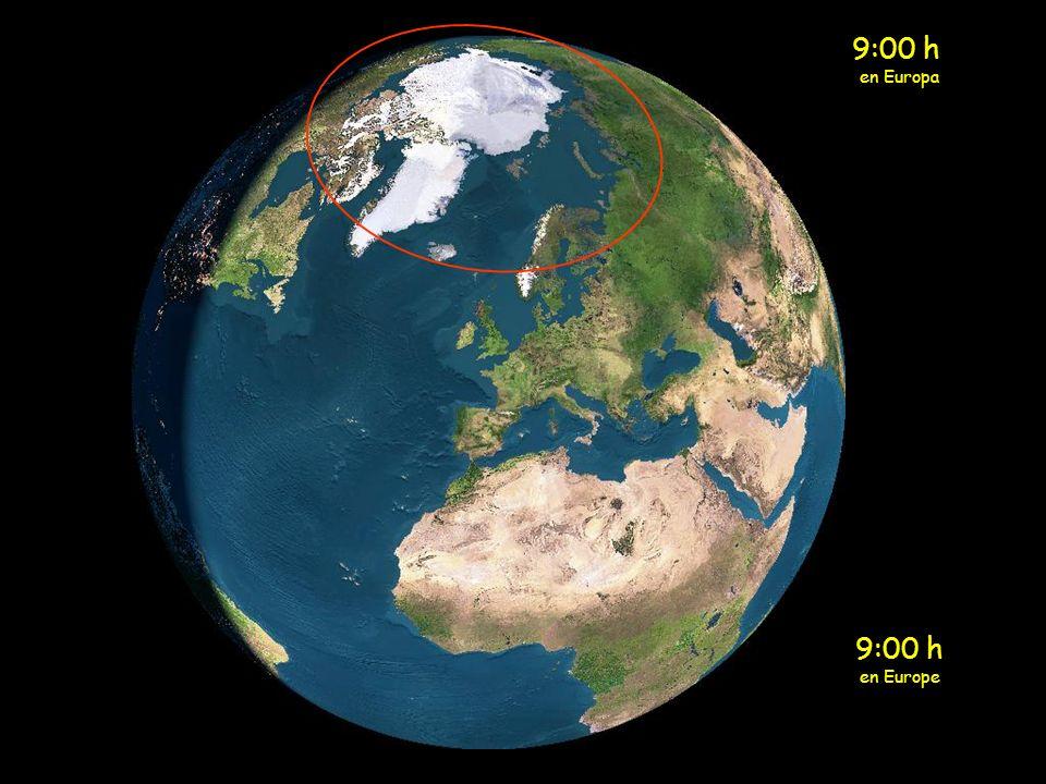 8:00 h en Europa 8:00 h en Europe