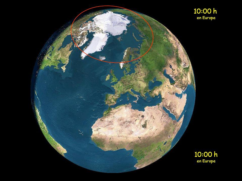 9:00 h en Europa 9:00 h en Europe