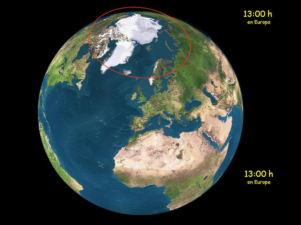 13:00 h en Europa 13:00 h en Europe