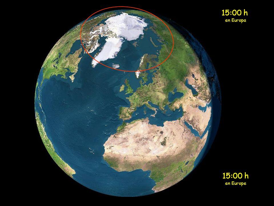 1:00 h en Europa 1:00 h en Europe