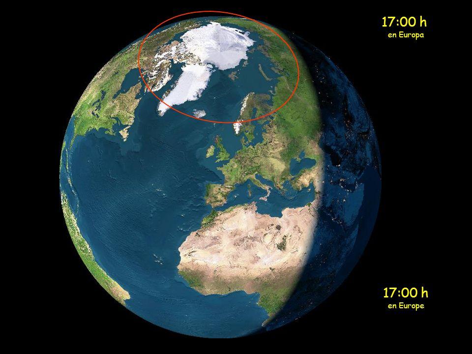 17:00 h en Europa 17:00 h en Europe