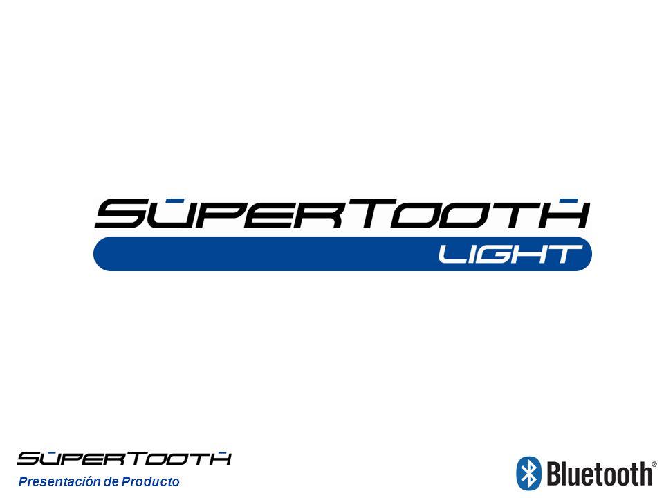 Presentación de Producto ENCENDER Para encender el SuperTooth Light, pulse el micrófono para extraerlo.