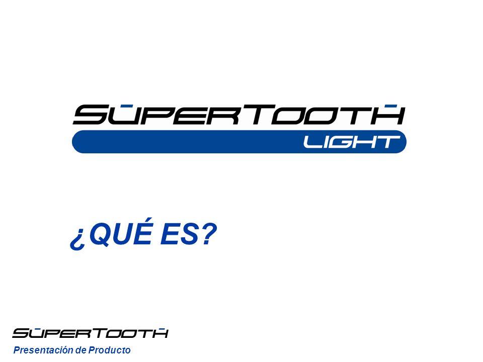 El SuperTooth Light es un kit manos libres Bluetooth autónomo.