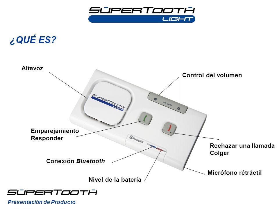 ¿QUÉ ES.El SuperTooth Light se cambia fácilmente de un vehículo a otro.