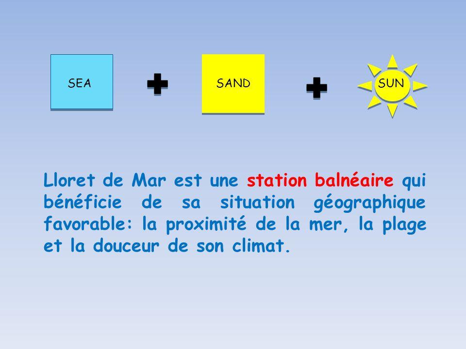 SEASAND SUN Lloret de Mar est une station balnéaire qui bénéficie de sa situation géographique favorable: la proximité de la mer, la plage et la douce