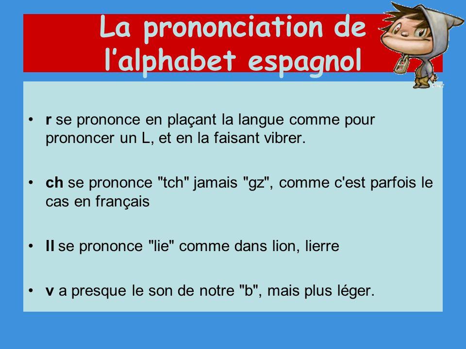 r se prononce en plaçant la langue comme pour prononcer un L, et en la faisant vibrer.