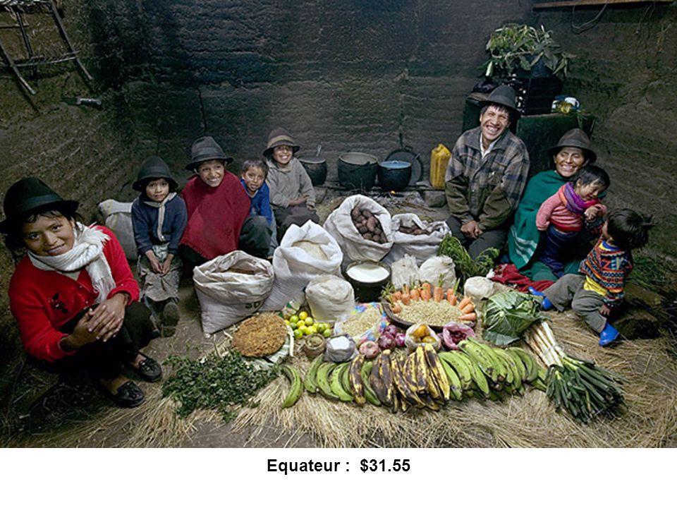 Equateur : $31.55