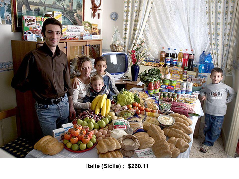 Italie (Sicile) : $260.11