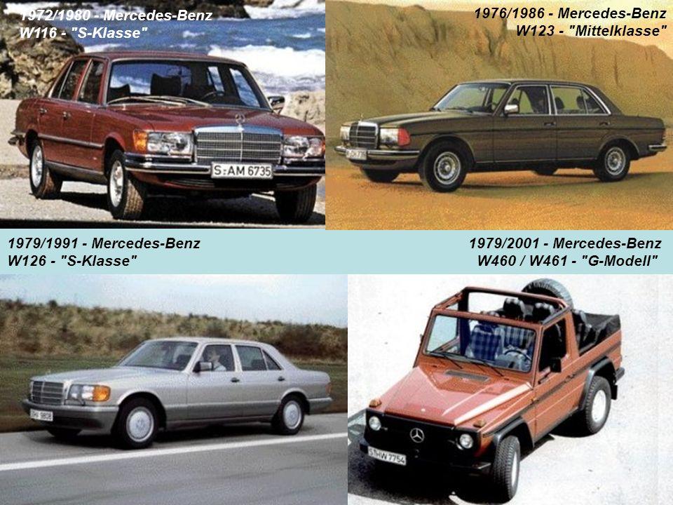 1972/1980 - Mercedes-Benz W116 -