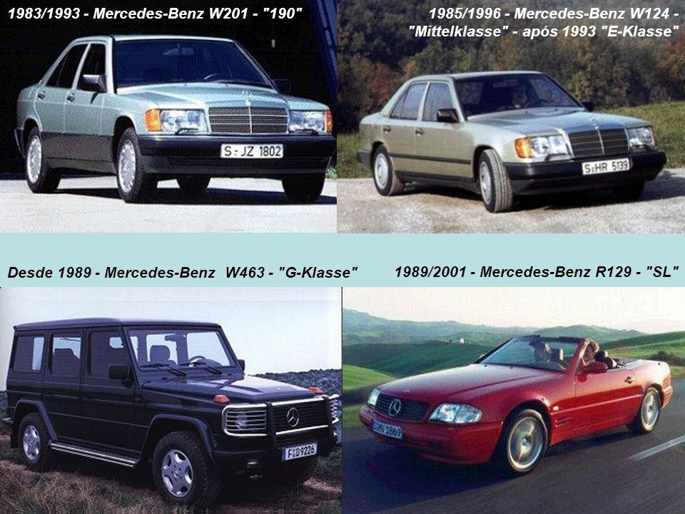 1983/1993 - Mercedes-Benz W201 -